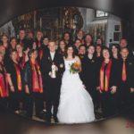 Musikalische Begleitung einer Hochzeit bei Traunstein