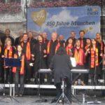 Konzert vom 14.6.2008 im Rahmen von 850 Jahre München