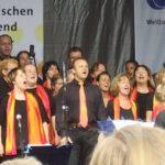 Weltjugendtag, 13.8.2005, am Marienplatz in München