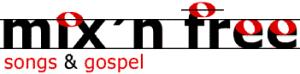 Mix'n'Free Gospelchor Logo